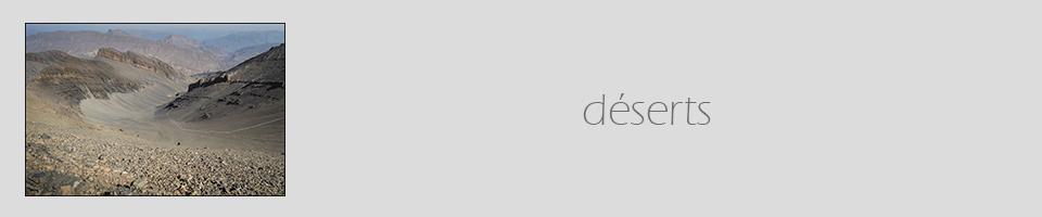 déserts